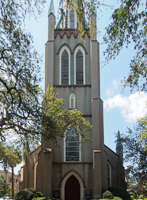 Saint John Episcopal Church in Savannah GA.