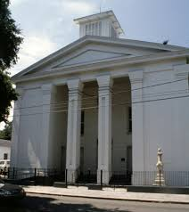 First Bryan Church in Savannah GA.