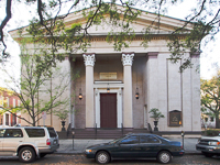 Trinity United Methodist Church in Savannah GA.