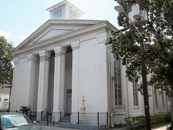 Fun things to do in Savannah : First Bryan Church in Savannah GA.