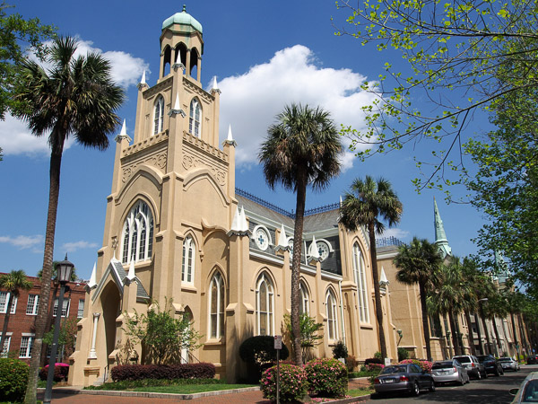 Temple Mickve Israel in Savannah GA.