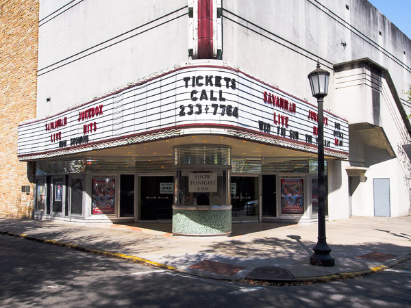 Fun things to do in Savannah : Historic Savannah Theatre in Savannah GA.