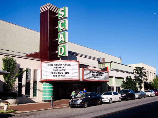 Fun things to do in Savannah : SCAD Theatre in Savannah GA.