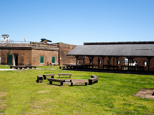 Fun things to do in Savannah : Fort Jackson in Savannah GA.
