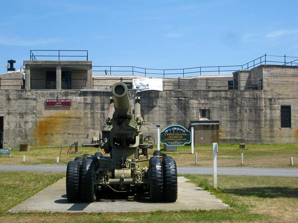Fun things to do in Savannah : Fort Screven in Tybee Island GA.