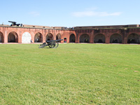 Fort Pulaski in Savannah GA.