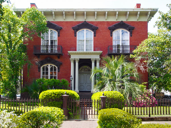Fun things to do in Savannah : Mercer-Williams House in Savannah GA.