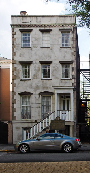 Fun things to do in Savannah : Flannery O'Connor Childhood Home in Savannah GA.