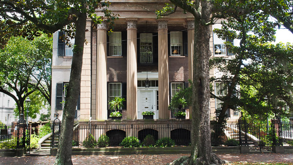 Fun things to do in Savannah : Harper Fowlkes House in Savannah GA.