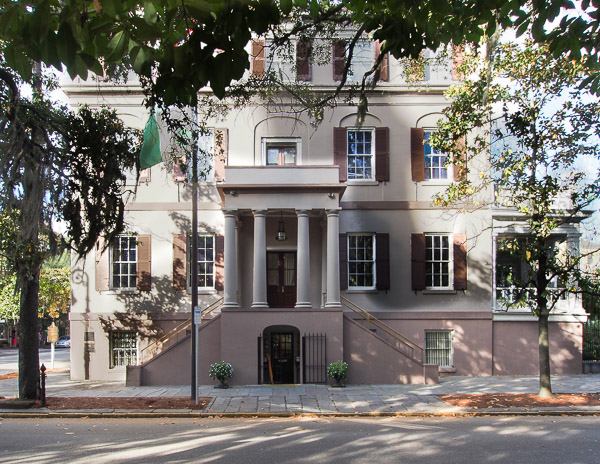 Fun things to do in Savannah : Juliette Gordon Low Birthplace in Savannah GA.