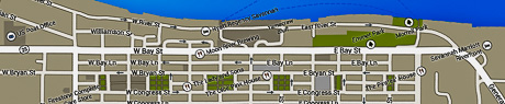 Savannah-Riverfront Map.