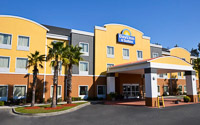 Fun things to do in Savannah : Days Inn & Suites North I-95 in Port Wentworth GA.