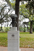 Dr. Noble Wimberly Jones Medical Monument in Savannah GA.