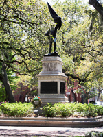 Sergeant William Jasper Monument in Madison Square in Savannah GA.