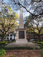 Nathanael Greene Monument in Savannah GA.
