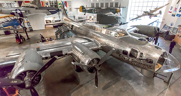Fun things to do in Savannah : Mighty Eighth Air Force Museum in Pooler GA.