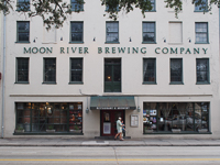 Moon River Brewing Company in Savannah GA.