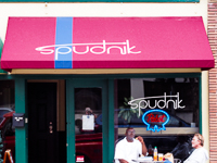 Fun things to do in Savannah : Spudnik in Savannah GA.