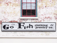 Go Fish Clothing & Jewelry in Savannah GA.