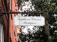 Southern Charm Antiques in Savannah GA.