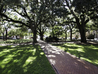 Calhoun Square in Savannah GA.