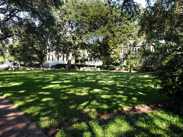 Fun things to do in Savannah : Warren Square in Savannah GA.