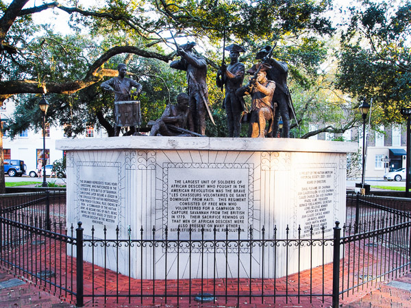 Fun things to do in Savannah : Franklin Square in Savannah GA.
