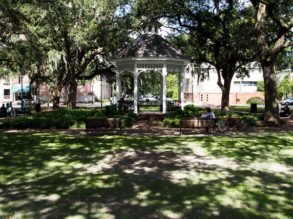 Whitefield Square in Savannah GA.