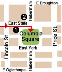 Columbia Square Map Day 2.