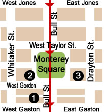 Monterey Square Map Day 2.