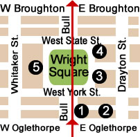 Wright Square Map Day 1.