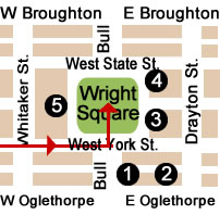 Wright Square Map Day 2.
