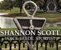 Bonaventrue Cemetery tour by Shannon Scott in Savannah GA.