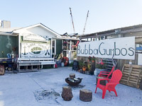 Fun things to do in Savannah : Bubba Gumbo's Seafood Restaurant in Tybee Island GA.
