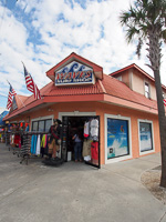 Fun things to do in Savannah : Waves Surf Shop in Tybee Island GA.