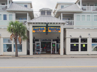 Fun things to do in Savannah : Funky Fish Outdoors in Tybee Island GA.