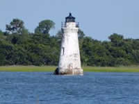 Fun things to do in Savannah : Cockspur Lighthouse .