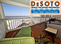 Fun things to do in Savannah : DeDoto Beach Vacation Properties