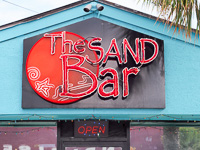 Fun things to do in Savannah : Sand Bar in Tybee Island GA.