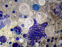 Fun things to do in Savannah : Mary Ingalls Glass Art in Tybee Island, GA.