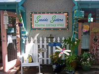 Fun things to do in Savannah : Seaside Sisters in Tybee Island, GA.