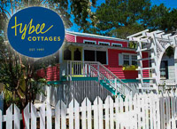 Fun things to do in Savannah : Tybee Cottages Inc in Tybee Island GA.