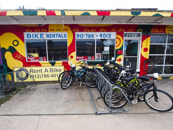 Fun things to do in Savannah : Fat Tire Bicycles in Tybee Island GA.