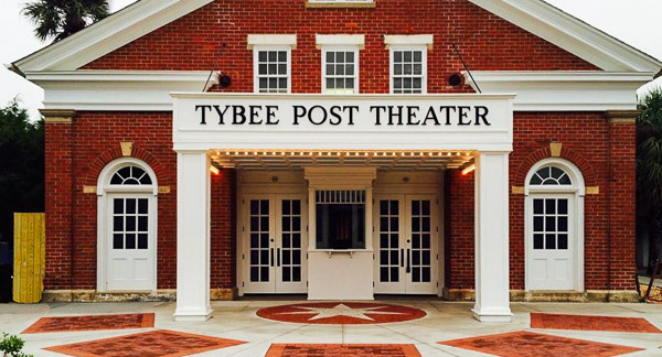 Fun things to do in Savannah : Tybee Post Theater in Tybee Island GA.